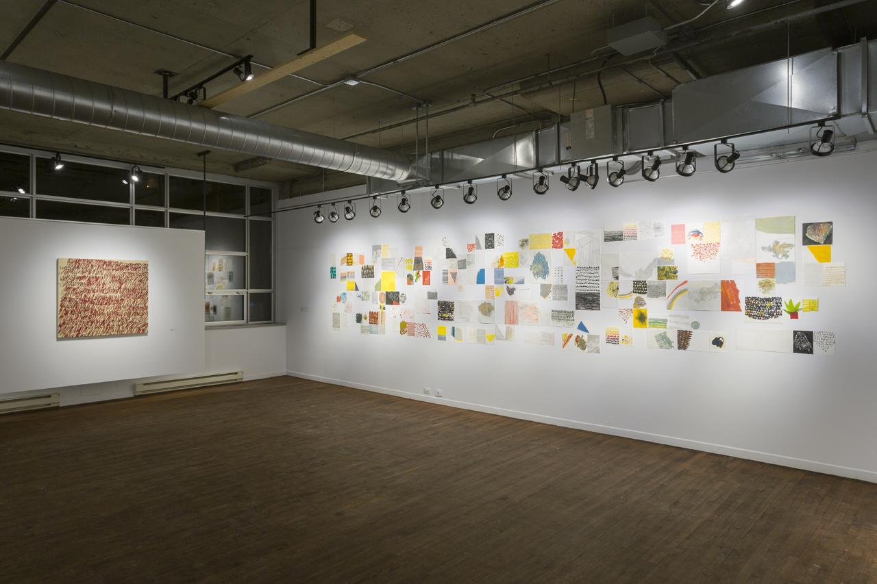 Vue de l'exposition Peindre & dépeindre - Galerie Simon Blais